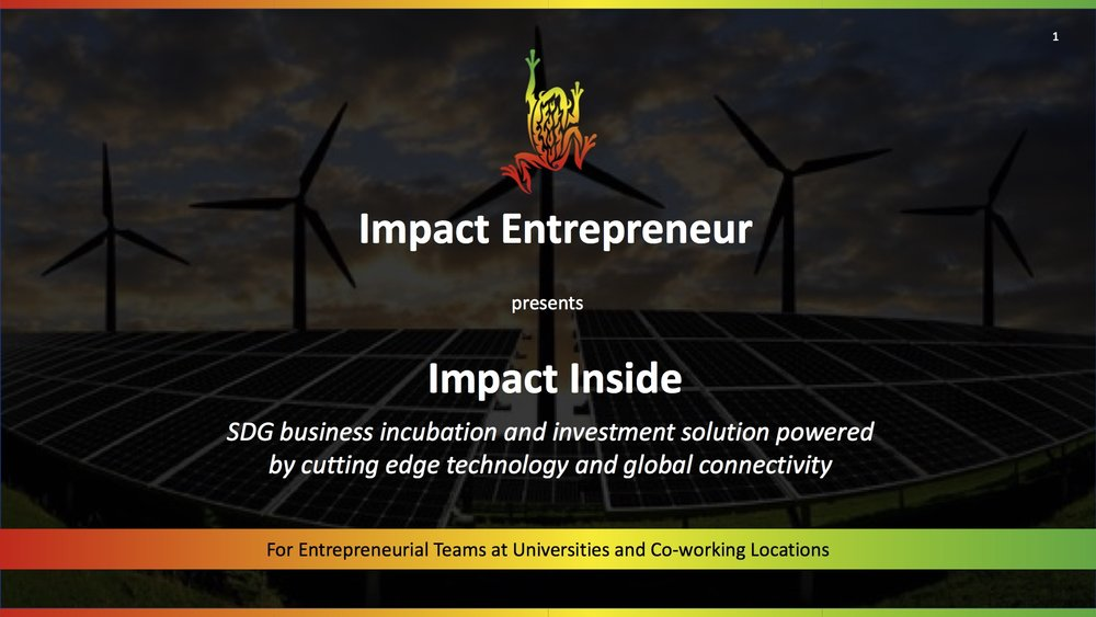 For more information on  Impact Inside for Universities and Hubs ,  click here .