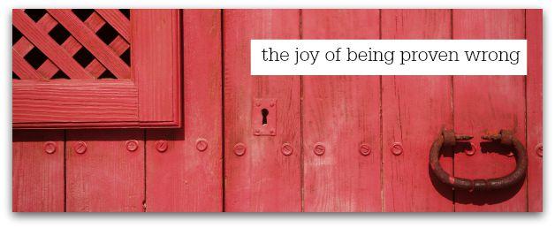joy of wrong