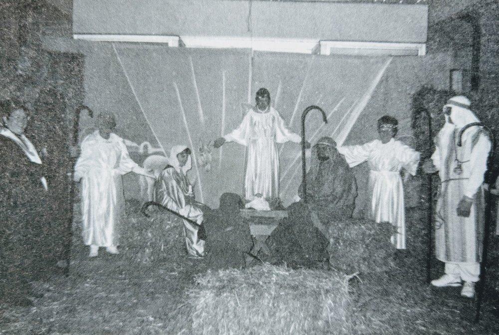 Live Nativity Scene - 1995