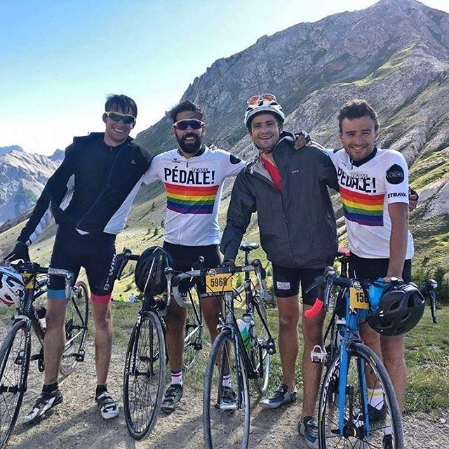 Nos Heroes aussi l'ont fait dimanche dernier 🚴🏼⛰ #Étape18 #etapedutour #TourdeFrance2017 #teampedale #insidesportheroesgroup