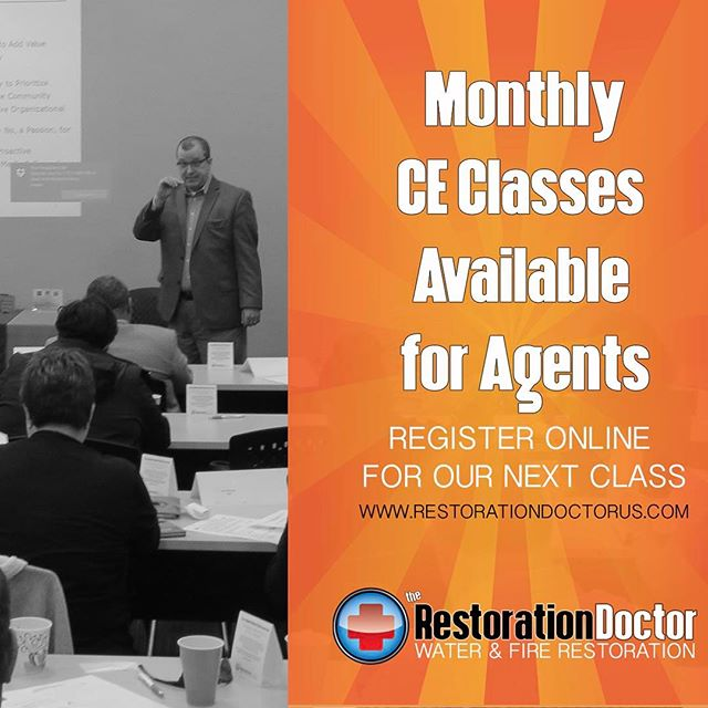 Our next CE Class Offering is May 4. Please visit www.restorationdoctorUS.com to register!