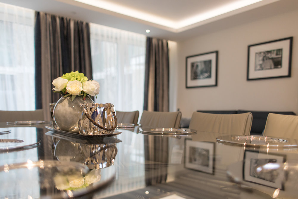 Full turnkey furniture, window treatments and accessory solutions for the serviced apartment and hospitality sector
