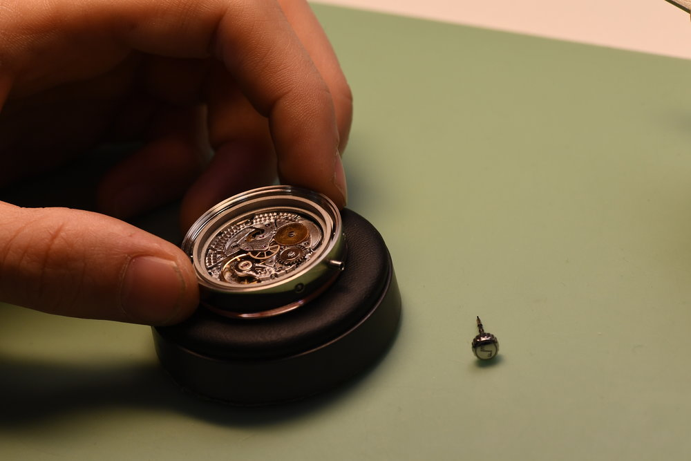 CULTURE OVER PERFORMANCE -  Promoting the watchmaking process with limited production quantities.