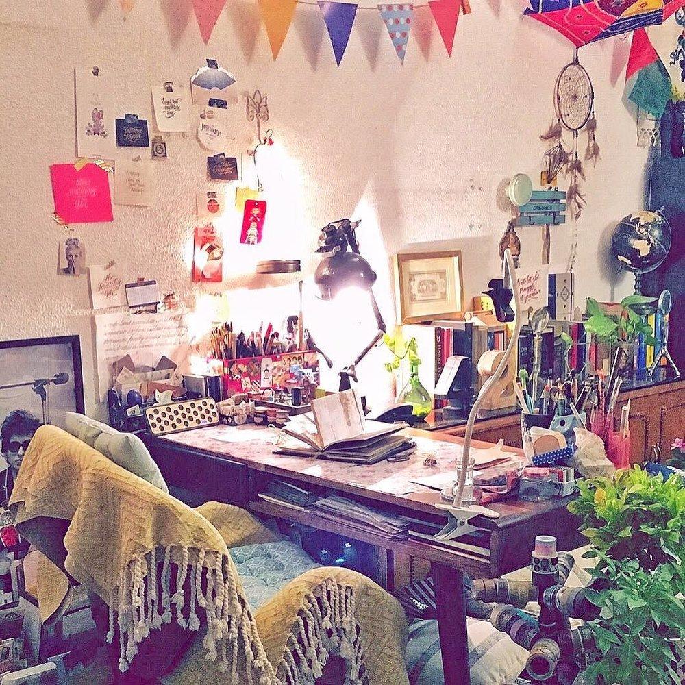 home-studio-calligrapher