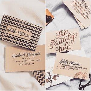 How i handmade my business cards 3 diy designs the scratchy nib how i handmade my business cards 3 diy designs reheart Choice Image