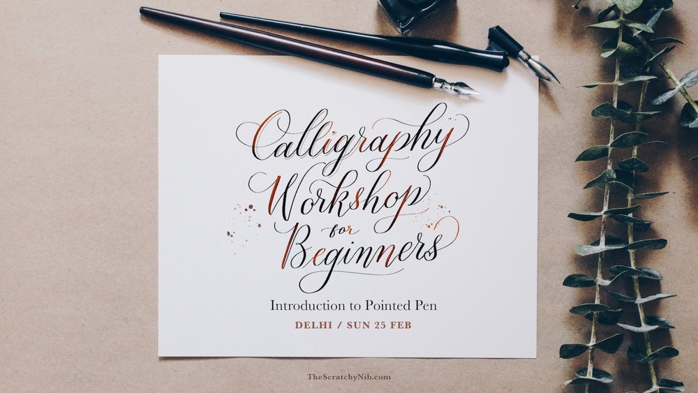 calligraphy-workshop-delhi-2018