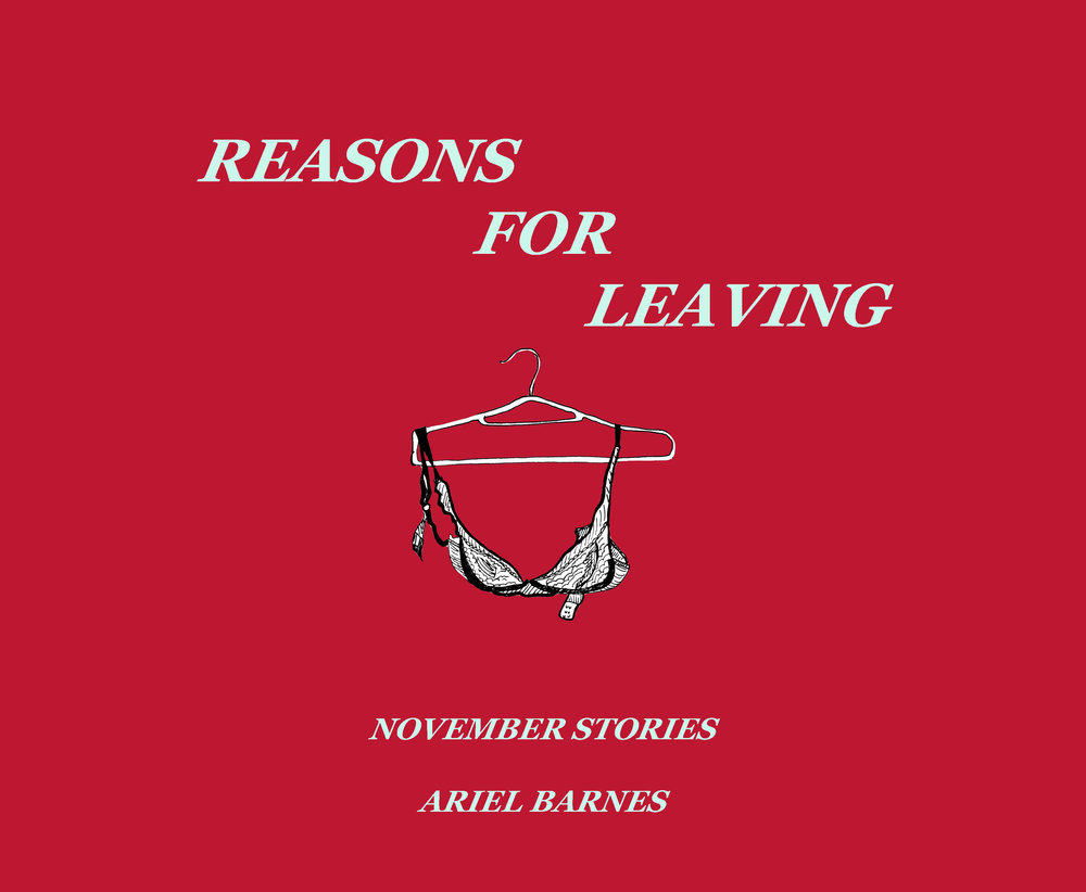 Reasons For Leaving  - November's small series of stories explores the vulnerability in candor. Everyone has their breaking point with a job, although no one likes to admit what truly broke them. A man faces social pressure to exude masculinity.A woman lives with the societal pressure to be