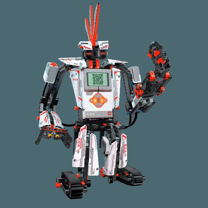 LEGO ROBOTICS EV3 - Esta plataforma Avançada de programação em Robótica permite várias configurações e desafios.