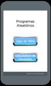 """""""Aplicativos Aleatórios"""" - Vitor"""