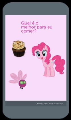 """Pink Pie! The Quest"" - Vitória"