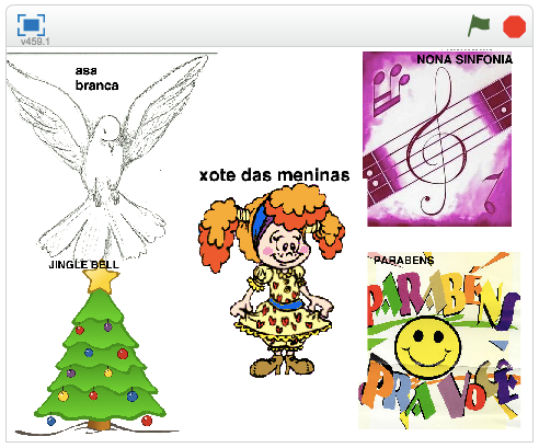 """""""Música na Flauta"""" - Alice"""