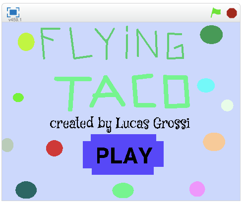 """""""Flying Taco"""" - Lucas G. e Lucas L."""