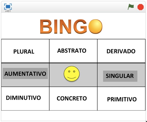 PORTUGUESE- Gramatical Bingo