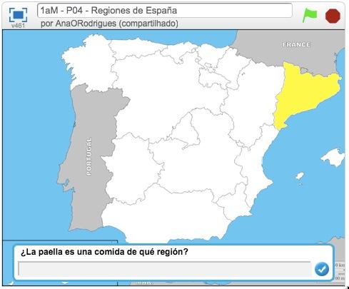Espanhol - Regiões da Espanha