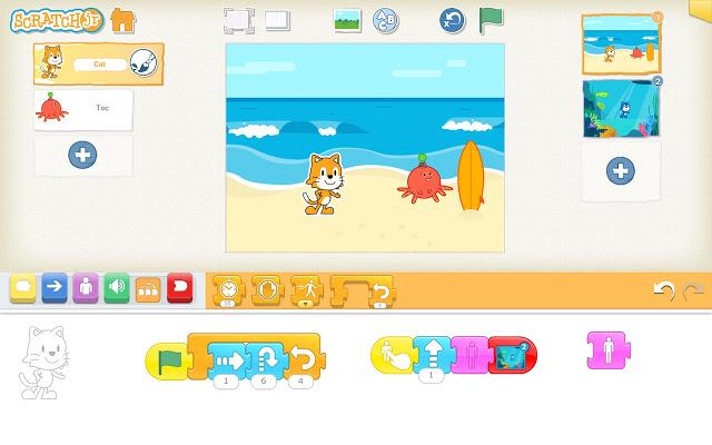 Plataforma Scratch Jr.