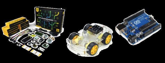 Robótica e Internet das Coisas com Arduíno.