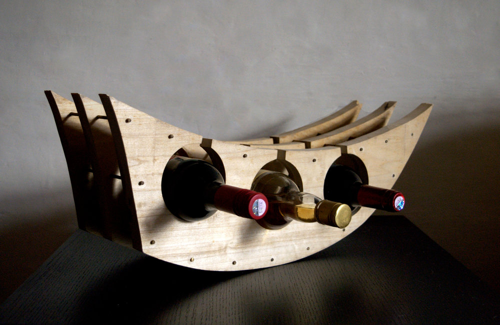 Multi- Functional Wine Rack