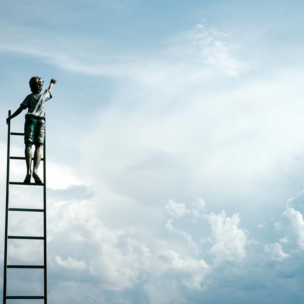 "kingdomwriters    Every story has a ladder. What do you think about his climb? It's  #writerswednesday  so drop a word,  #poem or line in the comments!  #kingdomwiters  #love   #photooftheday   #photo   #picoftheday  #inspiration   #instagood   #instamood  #beauty   #nature   #photography   #clouds  #poetry   #poem   #poet   #writerswednesday  #writersofig     calebjdeas    Man, look at this thing. It's love above. Maestro's pulling on my heartstrings. Is it work or is it pleasure climbing up this ladder? Let me answer. It's not the former, but the latter. With every Woody step I sing and hands reach for the sky. Do you know what I mean? All toys and games aside, I rise and I climb Story to story into higher heights. It's cool up here. So I stay frozen, Just like a statue in the garden. I catch glimpse and say ""Is that you?"" Take me up. I'm yours.  Your love melts me, I continue to pursue.    poetic.emcee    As i climb highee and higher to the promise , i feel a tug pulling me up while i feel something grabbing my feet. Eyes popped out in shock but then again the creater will make my enemies my footstool. This climb has blocked every doubt and fear cause i knew the closer i was to God, he would be right there. Anxiety erased, insanity destroyed, His blood was paid and for this Lord i am yours.... you made a promise tp me so i shall return back the favor favor aint fair but with you Lord i don't need to sign a waiver....    kingdomwriters     @poetic.emcee  👏🏼    jonathan.techer_et_compagnie    Beautiful! 🤗    theesoulbro    What I see is farther than the horizon, I'm reaching farther than I can see I'm climbing this ladder to get what's for me This is my moment, this my destiny Taking advantage and no more questioning Drawing closer to The Most High, with every climb This peace is so sweet this joy is divine It's mine, reaching for heights keeping my eyes on the prize Beauty in my journey to get to my destination Took the first step to this dream that I am chasing Ladders...    damienellison    I know I'm a day late but: ""Rising to seek His face, early in the morning  Read between the lines, is how you'll draw closer"" from a poem I wrote a couple days ago.  #Sunrise     i_am_written    Tuh, the climb.. inevitable and necessary! Faith is the substance; guidance, wisdom and revelation of things not seen...    kingdomwriters     @i_am_written  love it ☺    kj_major    ✌️"