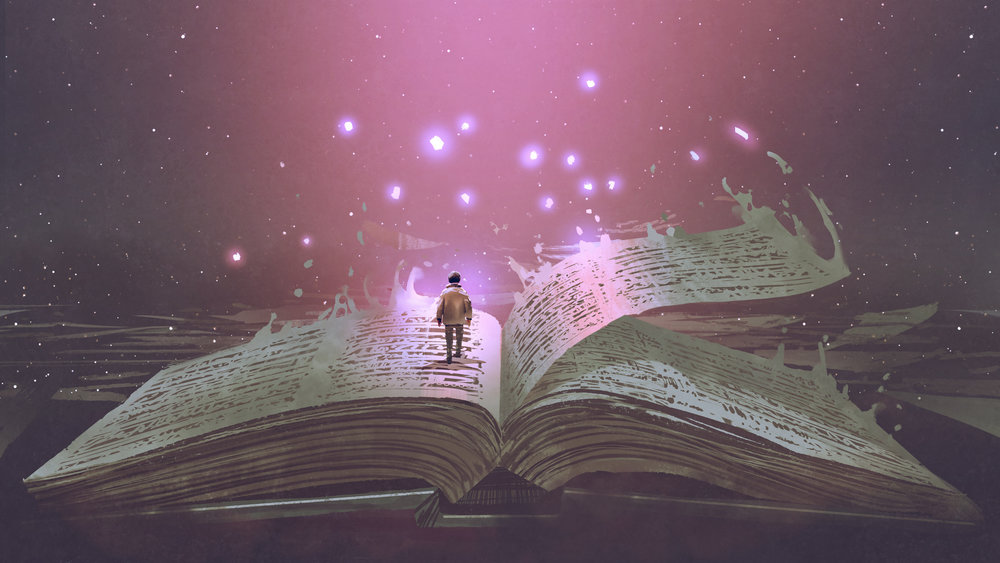 """kingdomwriters    Every week we share a captivating, provocative image on our feed for  #WritersWednesday  & we invite you to write a word,  #poem ,  #quote , line - anything, at any length in our comments! We hope you enjoy..rememember all forms of  #writing  are acceptable and this is a safe  #expression  space! If you'd like to  #share please tag  @kingdomwriters     nicolajayne1803    Your word's alive and active... The solid book I stand upon.. Your word's the living water... Flowing from your precious son... Your word shines light into the darkness... It carries life on every page... Your word's the end and the beginning... And will stand till the end of age... 🙏    calebjdeas     @nicolajayne1803  I like that! Nice!    nicolajayne1803     @calebjdeas  thank you    calebjdeas    The church folks love to say """"I'm in the book."""" It's a point of justification & validation to say """"This is idea is right by the Bible."""" But what stands left on the page of His Book of Life?    c_dog93    Your word is a light unto my path... The Bible isn't relevant they said, Oh but it is, if you only take time to dive deep enough.  You'll find that the mysteries of God aren't so mysterious after all. Remember, the writing is always on the wall...    divinebloggerllc    The beautiful light beaming from Your book represents the omnipresence of You shining your light opening me up like a book as you perform much needed surgery, diving deep into the pages of my iniquity, purging me while drawing me close as I stand on the left trying to write my wrongs on paper and through prayer in a constant pursuit to right my wrongs and not get left out of your book. Thankful for your saving grace.    kingdomwriters     @nicolajayne1803 that's beautiful! Could definitely hear it as a song!    kingdomwriters     @c_dog93  👏🏾Killin it! 🔥    kingdomwriters     @divinebloggerllc deeeep 🙌🏾    divinebloggerllc     @kingdomwriters Thank you! This post was so timely. A much needed release for me.    healthybu"""