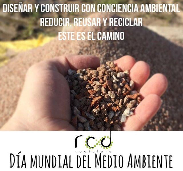 #medioambiente #reciclaje @rcd_reciclaje #DiaMundialDelMedioAmbiente