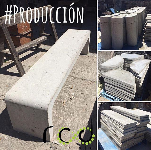 Productos realizados con 100% de árido reciclado. ♻️