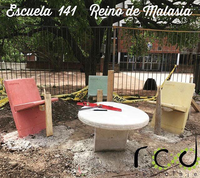 #reciclaje #mobiliariourbano #rcd @urban_mento @rcd_reciclaje