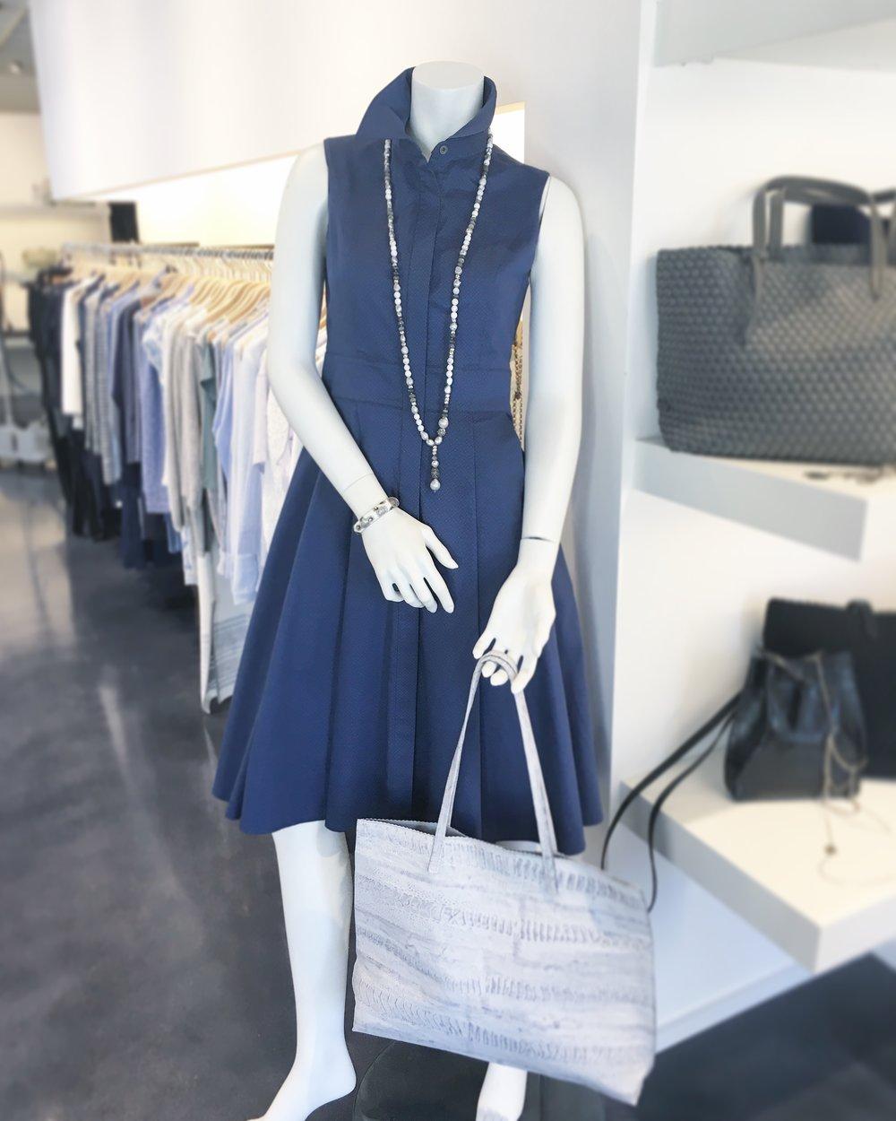 XANDER Indigo: The Classy Dress