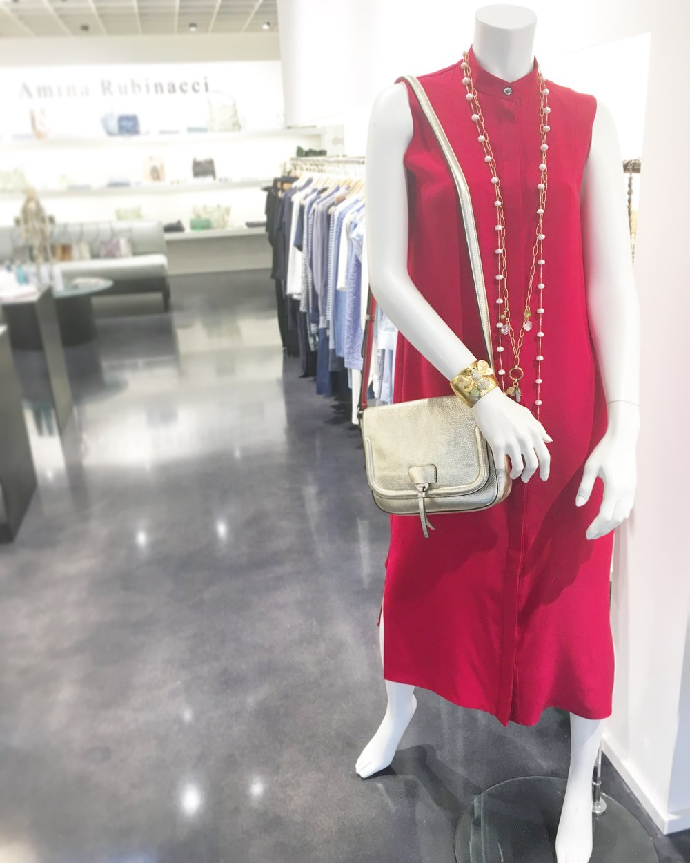 XANDER Red Silk: The Sultry and Sophisticated Dress