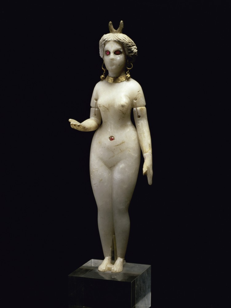 Alabaster statuette of Ishtar. Louvre, Paris.