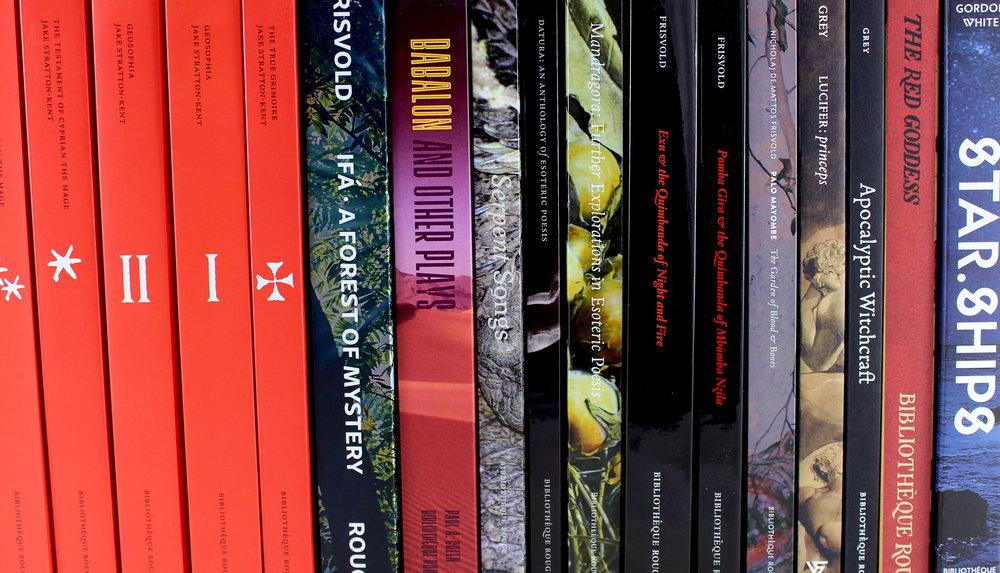 Bibliotèque Rouge paperbacks