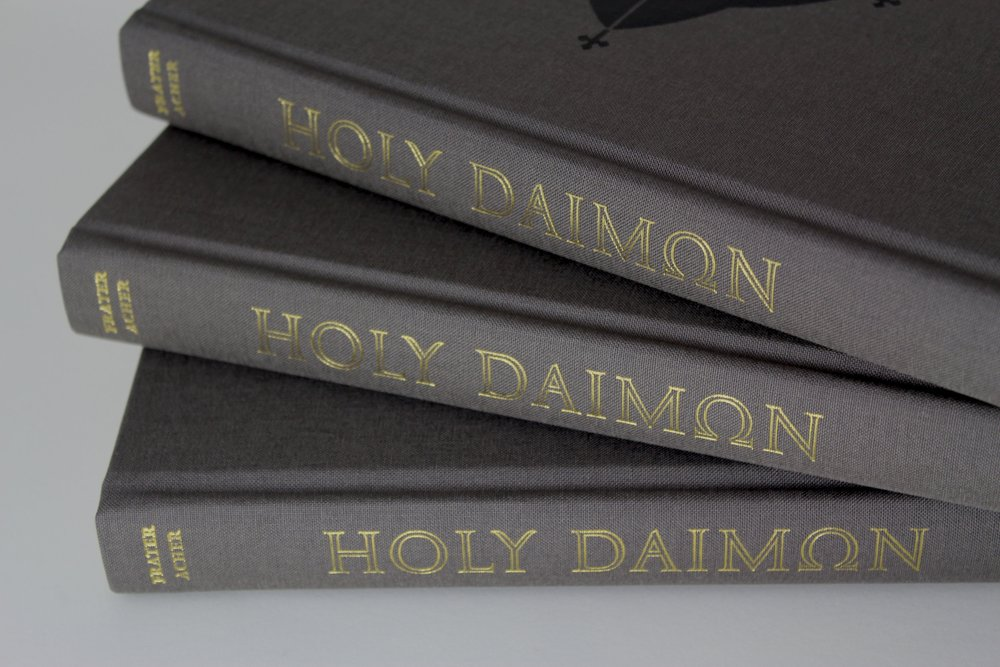 Gold blocking to the spine of the standard hardback edition