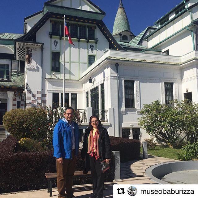 #Repost @museobaburizza ・・・ Hoy nos visitó la señora Lisbeth Rebollo Gonçalves, presidenta de AICA, asociación internacional de críticos de arte. La recibió nuestro director Rafael Torres