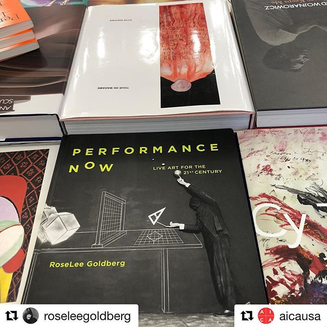 #Repost @aicausa  New survey of performance art by AICA-USA board member @roseleegoldberg out now! 🙌