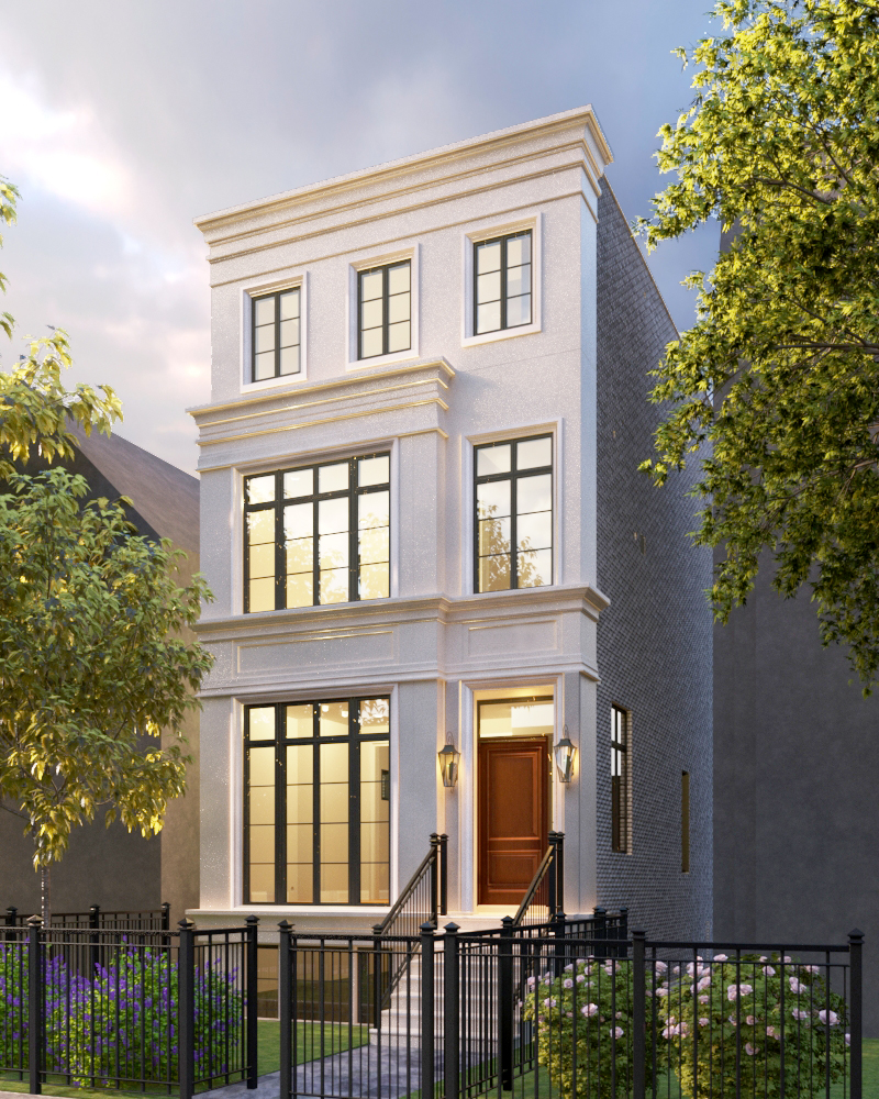 1820 Cleveland - Price: $4,700,000 Delivery - Third quarter 2019Property Features: 7 Bed | 7.1 Bath | 7,405 sq. ftIncredible new construction design/build opportunity coming soon on premier Cleveland Avenue! This remarkable home will feature 7,400 square feet with an attached 2 car heated garage with Mudroom, and a 5-stop Elevator providing access to a huge 4th floor Penthouse with Skydeck. Thoughtfully designed to seamlessly blend indoor and outdoor environments, the home will offer 1,500+ square feet of outdoor space, including a stone terrace that flows directly from the Great Room, a Garage roof deck, a 3rd floor covered veranda with outdoor fireplace, plus the 4th floor Skydeck with amazing panoramic city views. Don't miss this exceptional chance to let out team of architects and designers help you channel your unique dream home vision into reality.Contact Us | Map
