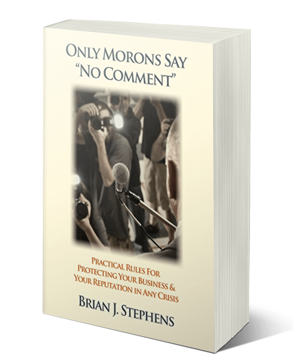 """Thank You! - You're all set. We hope you enjoy your free copy of Brian J. Stephens' excerpt from his book """"Only Morons Say 'No Comment'""""."""