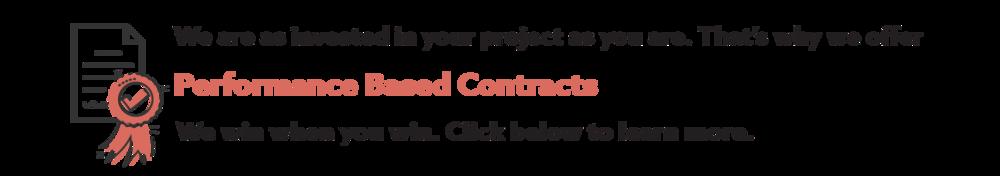 Performance Based Contract Guarantee -
