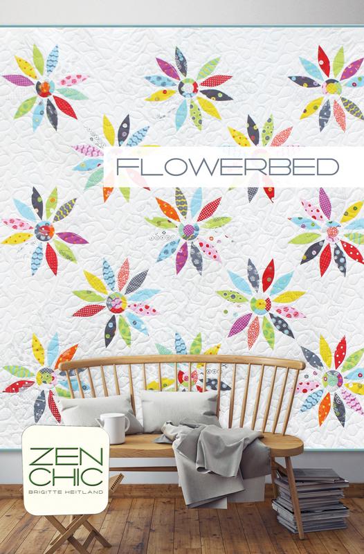 FlowerbedAppliqué Template -