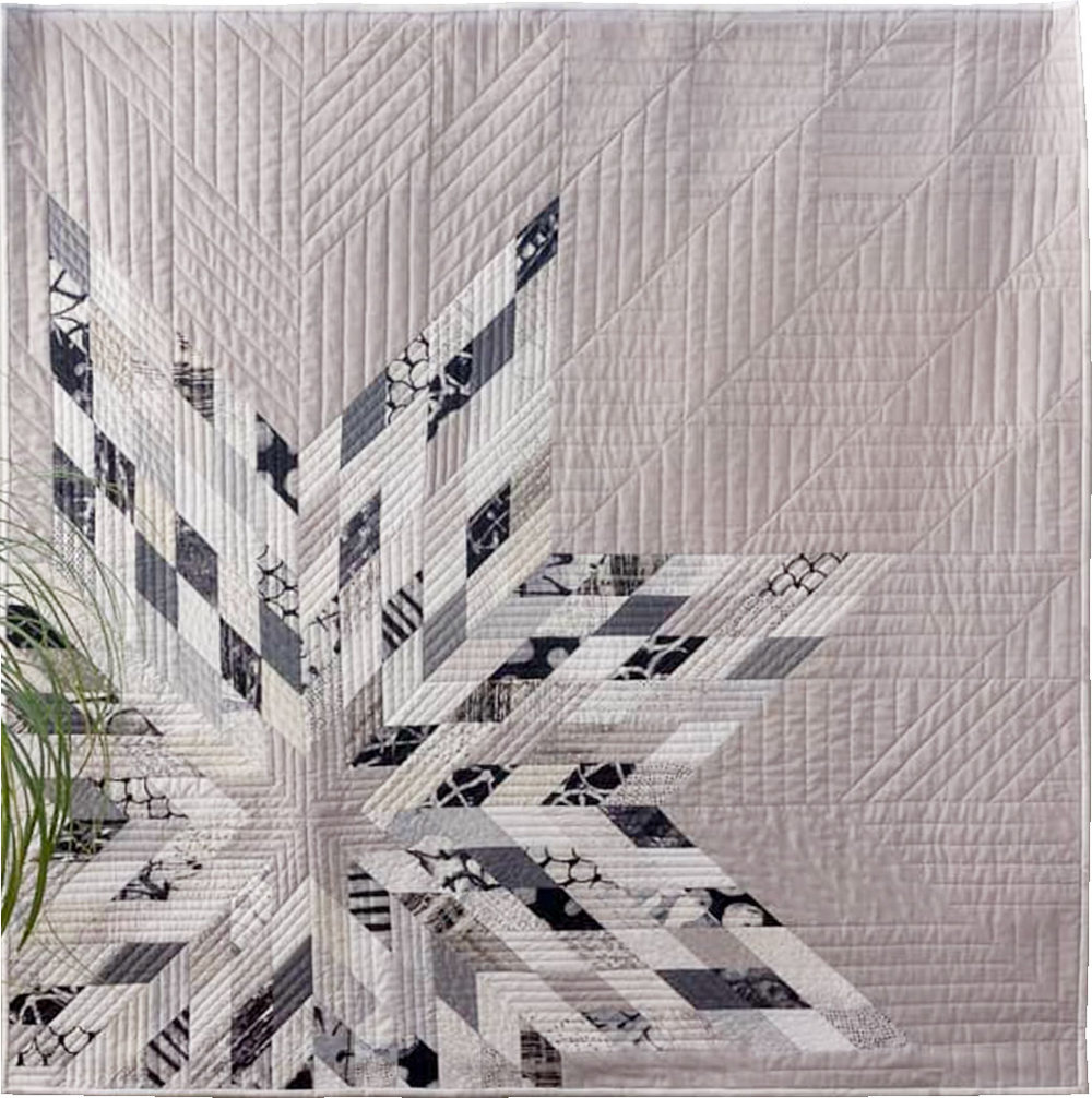 Mega Star quilt pattern by Zen Chic, sewn by Renate Salz