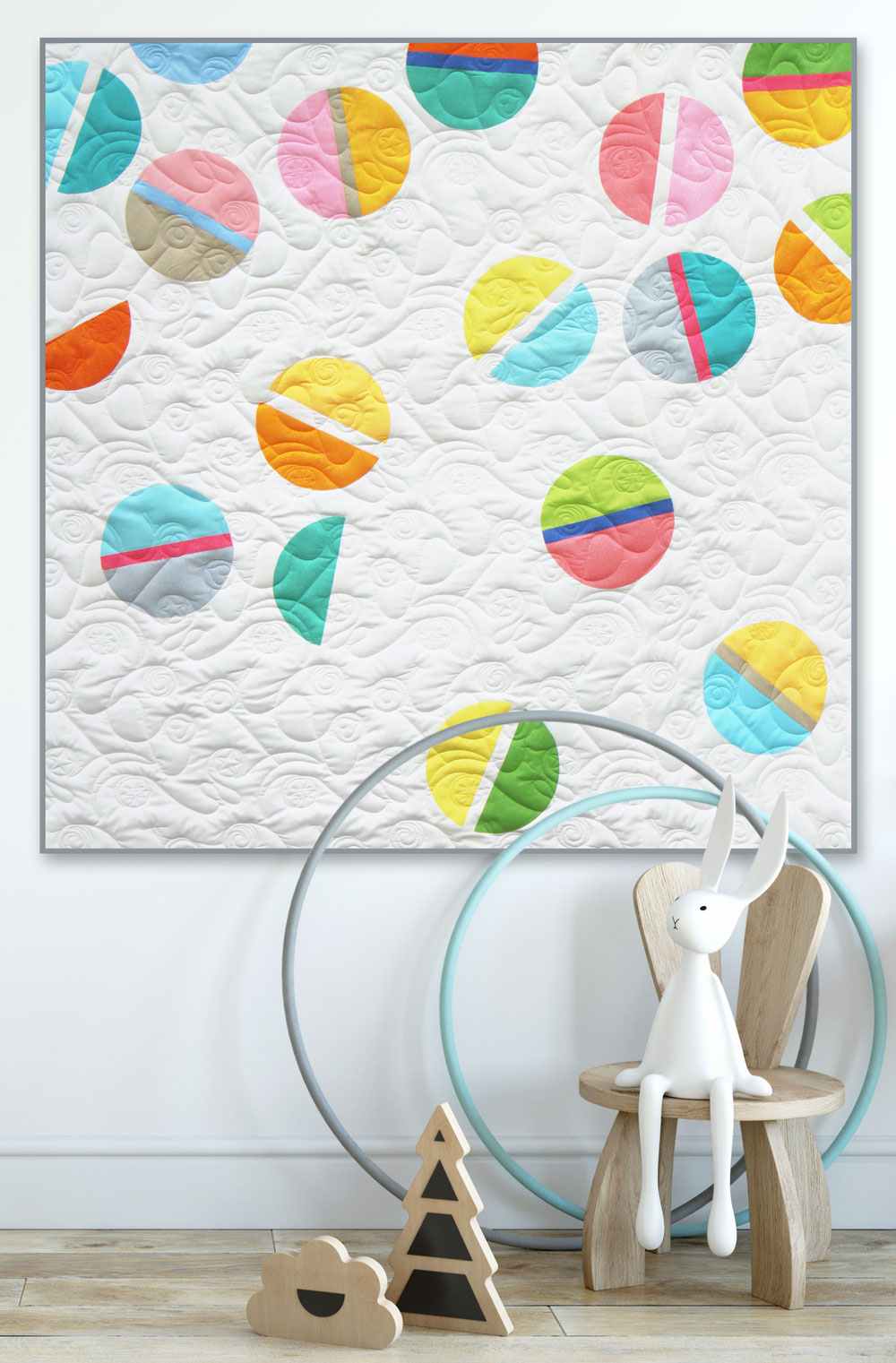 How to sew an easy and quick Baby Quilt and Blockheads 2018 - Block 32
