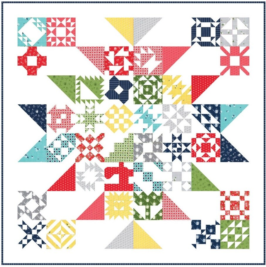 Sewcialties Quilt Along Sew Together With Us A Free Sampler Quilt