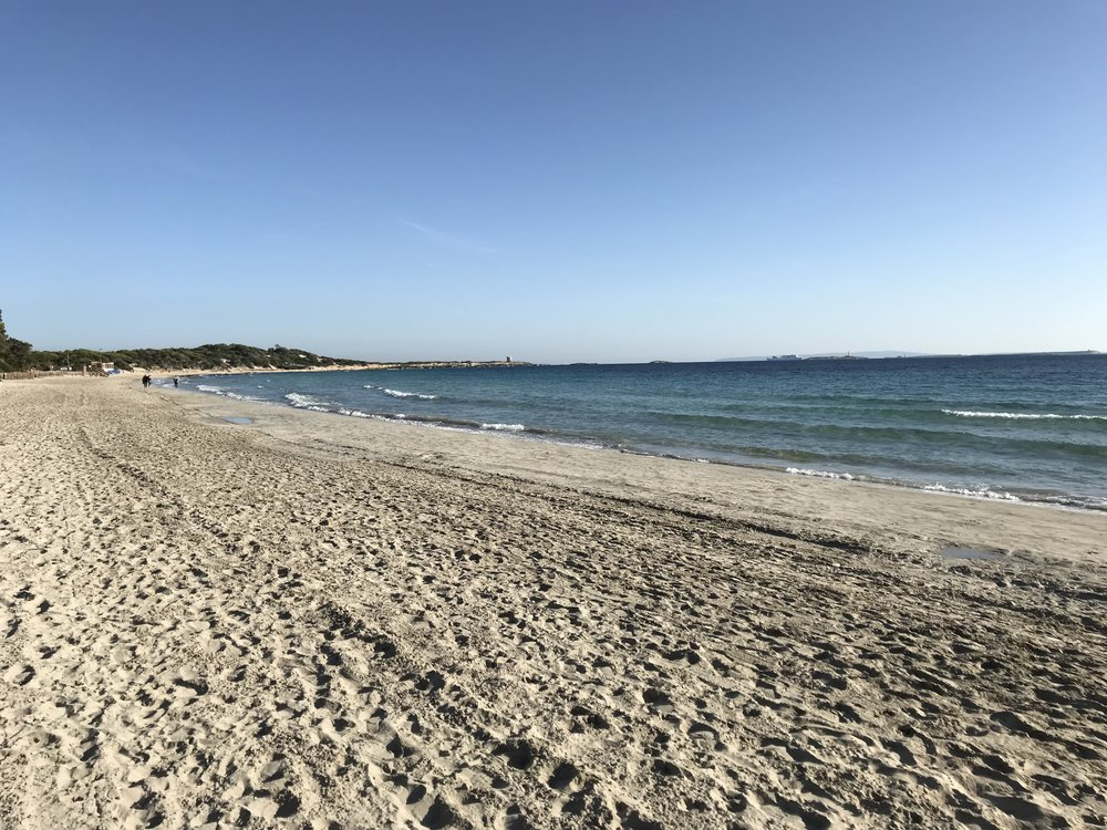 Playa den Bossa beach Ibiza