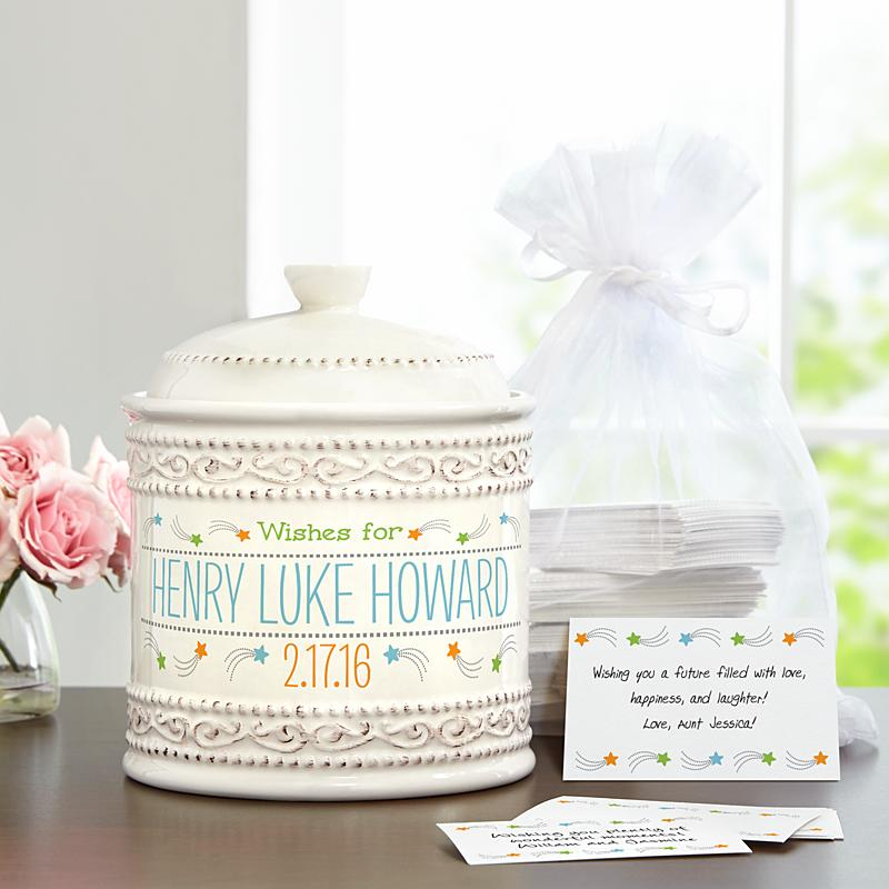 Baby naming wish jar