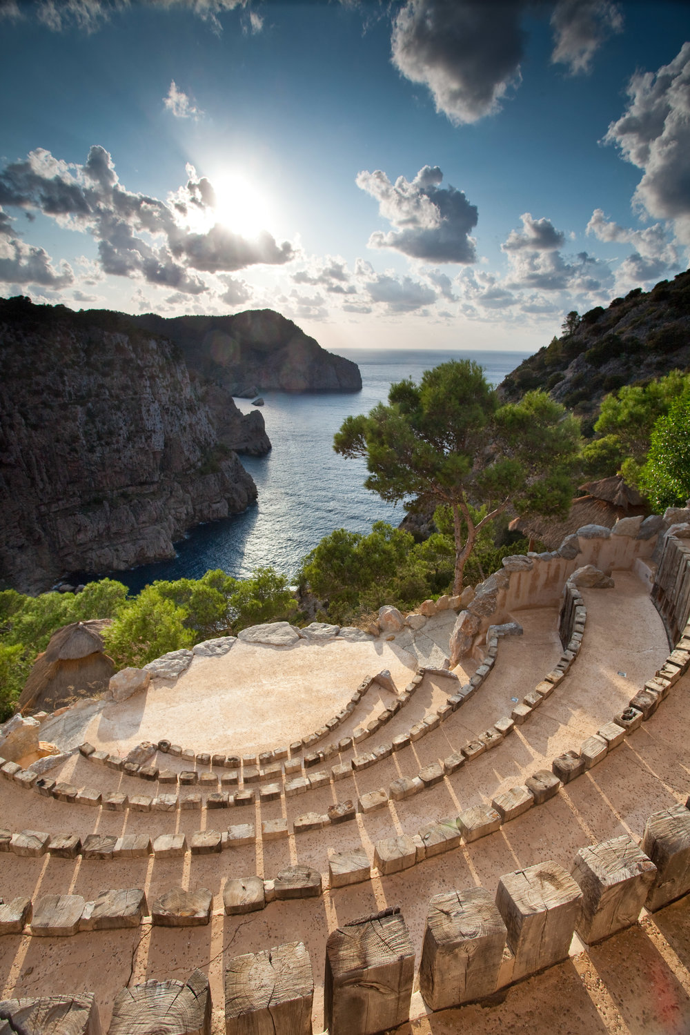 Wedding Venue Ampitheatre at Hacienda Na Xamena, Ibiza