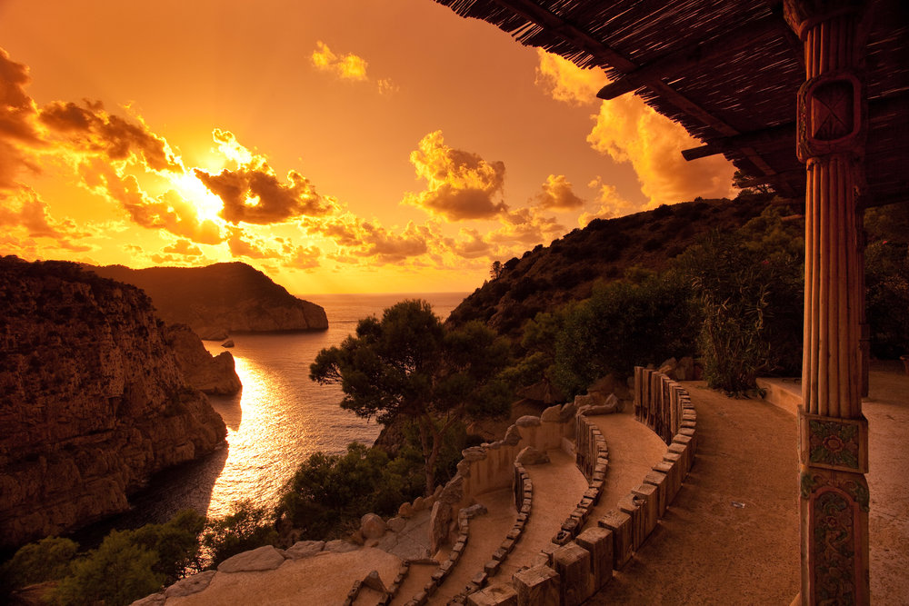 Amphitheatre of Hacienda Na Xamena, wedding venue on Ibiza