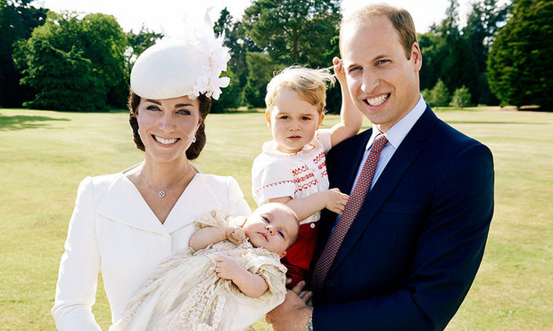 "On parenting   William: ""It's been quite a change for me personally. I'm very lucky in the support I have from Catherine, she's an amazing mother and a fantastic wife"""