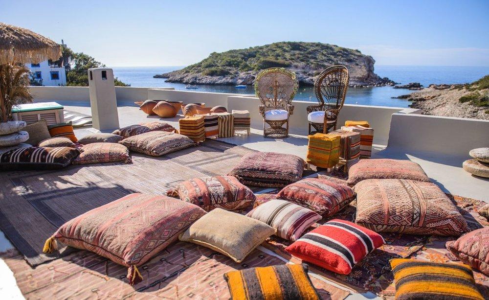 Rooftop wedding ceremony, Los Enamorados, Ibiza