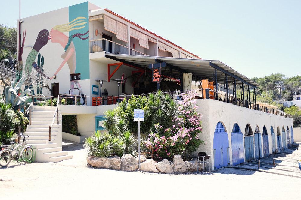 Los Enamorados, Portinatx, Ibiza