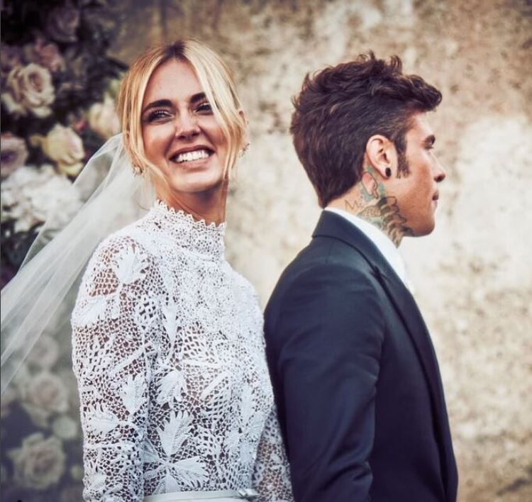 Chiara and Fedez married The Ferragnez Wedding