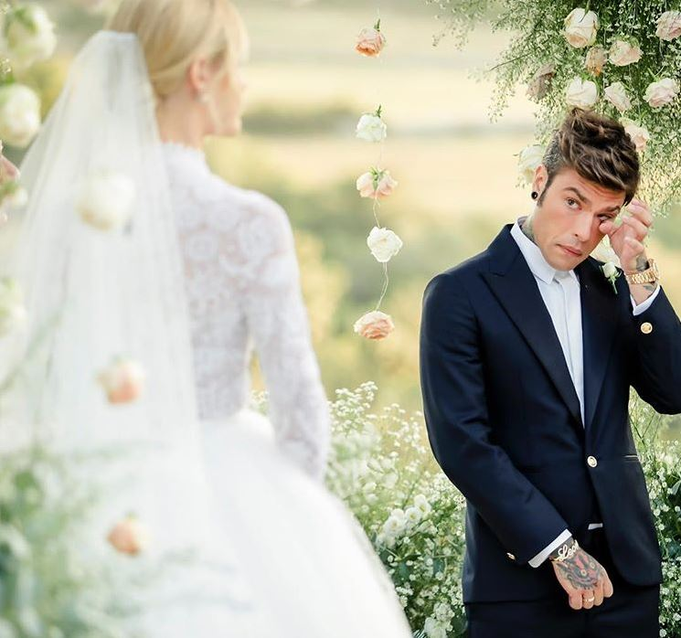 Fedez and Chiara Wedding The Ferragnez