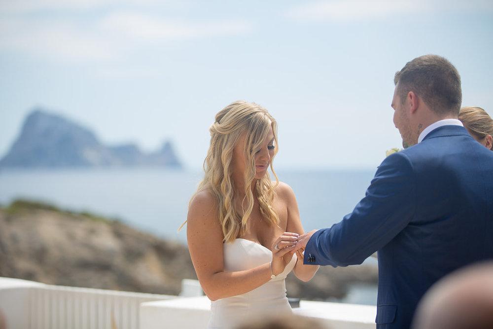 Wedding Ceremony at Elixir, Ibiza. Photography by Matt Morgan.
